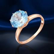 Топаз. Золотое кольцо