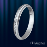 Кольцо из серебра 925°
