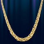 Золотая цепочка Веревка Жёлтое золото