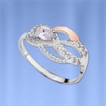 Кольцо Мариса. Серебро & Золото