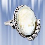 """Серебряное кольцо """"Kamea"""""""