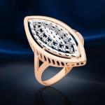Золотое кольцо. Цирконий