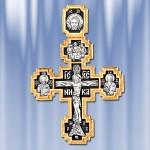 Православный крест Распятие Христово Покров Пресвятой Богородицы Шесть святых