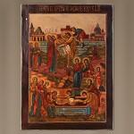 Икона Снятие со креста
