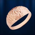 Золотое кольцо из русского золота