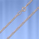 Серебряная цепочка Нонна позолоченная