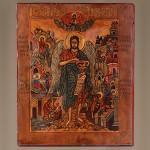 Икона рукописная