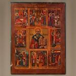 Икона Житие Святого Николая