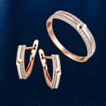 Серьги & кольцо. Русское золото