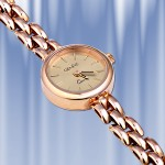 Золотые часы женские