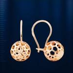 Золотые серьги. Русское золото