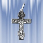 Крecт из Серебра Православный