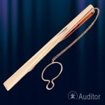 Зажим для галстука из русского золота 585