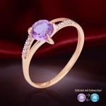 Золотое кольцо. Алексит & Фианит