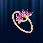 Кольцо с Аметистом из Золота