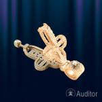 Крест - Мощевик золотой