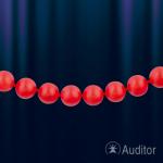 Ожерелье из красного коралла