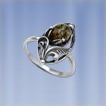 Серебряное кольцо Лимон