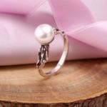 Серебряное кольцоТоккала. Жемчуг