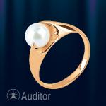 """Кольцо из золота с жемчугом """"Афродита"""""""