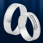 Кольцо обручальное золотое