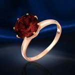 Золотое кольцо. Гранат
