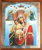 Икона Богородицы Достойно есть