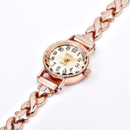 553733b2 Золотые часы женские Чайка с золотым браслетом, Damenuhr Gold 585 ...