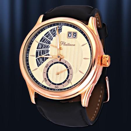6fe88a8a34a2 Золотые часы Platinor мужские, Herrenuhr Chaika - Auditor GmbH
